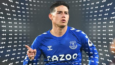 Watch James Rodriguez' best moments for Everton from the 2020/21 season, as the Columbian midfielder travels to Qatar for talks with a club before a potential move.
