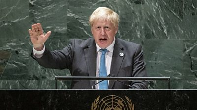Boris Johnson: 'It is time for humanity to grow up'