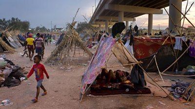 Del Rio migrant camp
