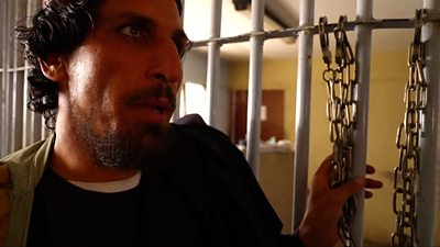 Hafizullah Afzal, former inmate and Taliban member