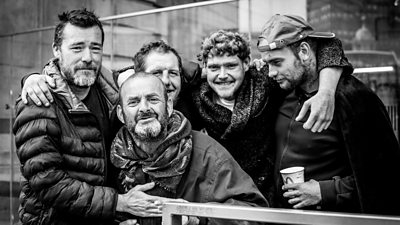 Photographer Anthony Dawton has been documenting London's homeless population during the pandemic.
