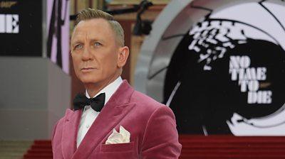 Daniel Craig at the premiere of Bond film, No Time To Die