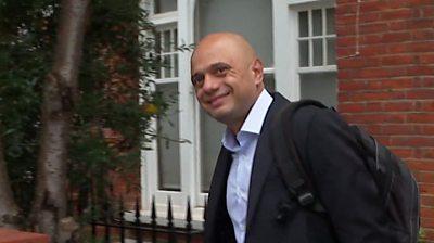 Sajid Javid, 12 October 2021