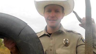 Wildlife officer Scott Murdoch