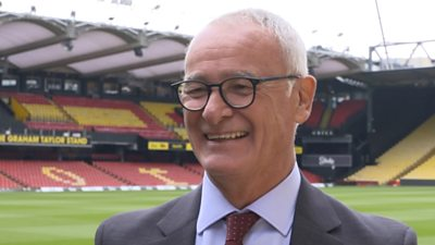 Claudio Ranieri talks to BBC Sport about his new job as Watford manager. The 69-year-old took charge after Xisco Munez was dismissed earlier in October.