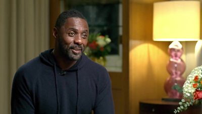 Idris Elba chats to Naga Munchetty about his role in The Harder They Fall.
