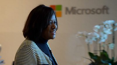 Jacky Wright, Corporate Vice President and Chief Digital Officer for Microsoft US
