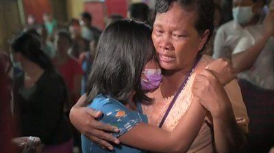 Prisoner release in Myanmar