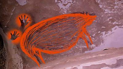 Indonesia cave art