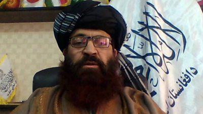 Alam Gul Haqqani, Taliban's acting head of the passport office
