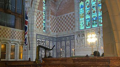 Britannia Royal Naval College chapel
