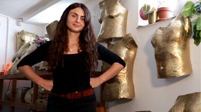 Bristol artist celebrates women's bodies by making casts
