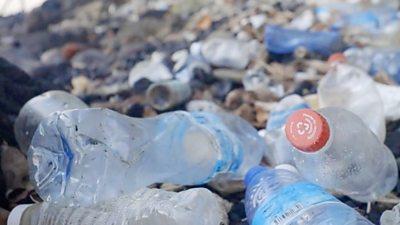 Plastic bottles in Samoa