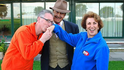 Lembit Opik MP and Edwina Currie