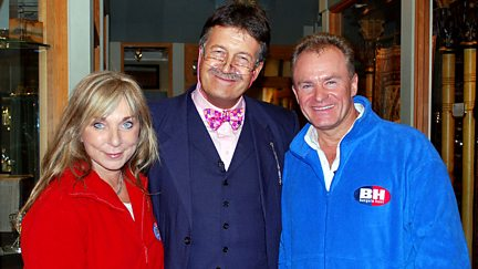 Helen Lederer and Bobby Davro