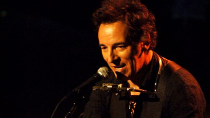 Bruce Springsteen with the Seeger Sessions Band