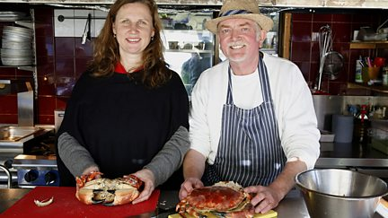 Gary Rhodes on Tomatoes and Angela Hartnett on Crab
