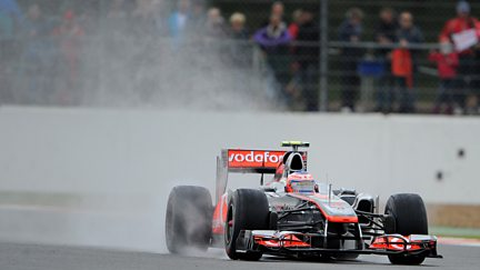 The British Grand Prix - Qualifying