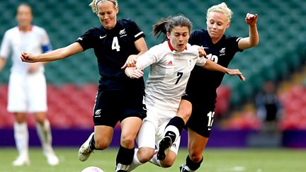 BBC One: Women's Football: Great Britain v New Zealand