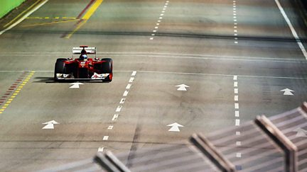 The Singapore Grand Prix - Qualifying