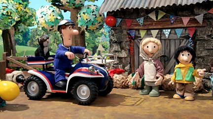 Postman Pat and the Sticky Situation