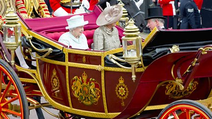 The Diamond Jubilee Carriage Procession