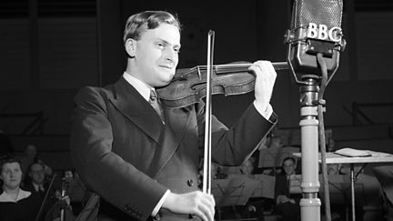 Yehudi Menuhin at the BBC