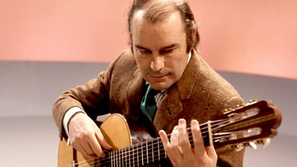 Julian Bream at the BBC