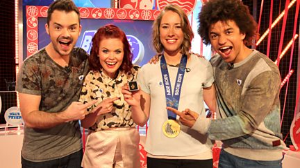 Little Mix, Kian Egan, Lizzy Yarnold & The 31 Legged Race