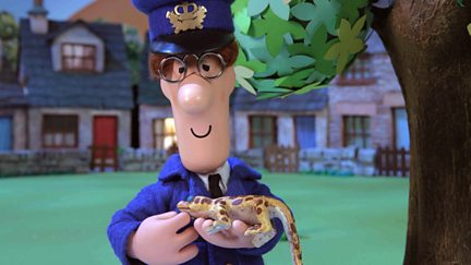 Postman Pat and Meera's Gecko