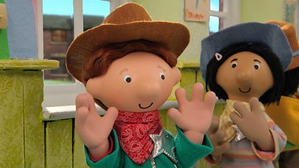 Postman Pat and Cowboy Colin