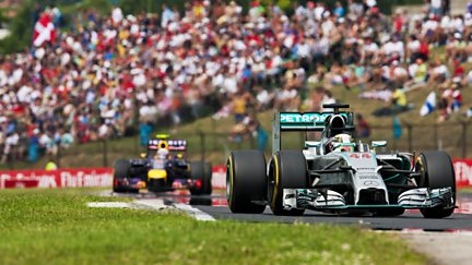 The Hungarian Grand Prix Highlights