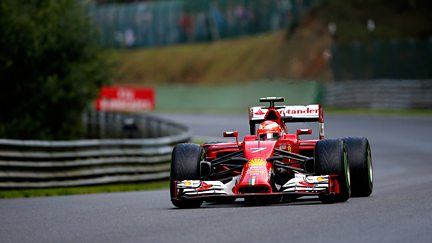 The Belgian Grand Prix - Practice 3