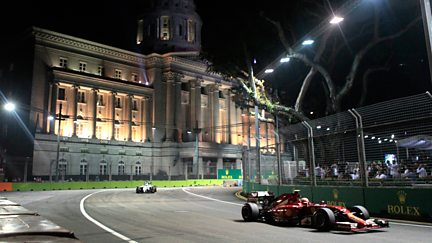 The Singapore Grand Prix - Qualifying Highlights