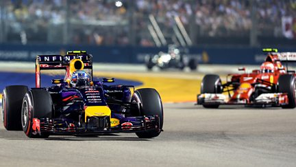 The Singapore Grand Prix Highlights