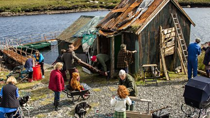 Katie Morag and Uncle Matthew's Hut