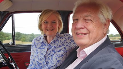 John Simpson and Martha Kearney