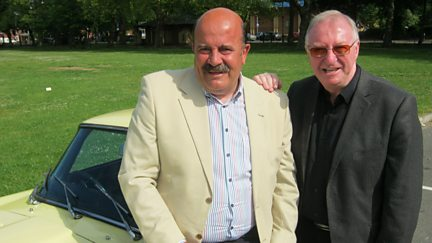 Dennis Taylor and Willie Thorne