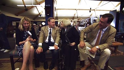 Dame Diana Rigg and Neil Dudgeon