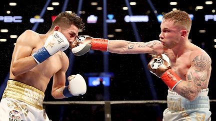 Frampton v Santa Cruz: The Fight