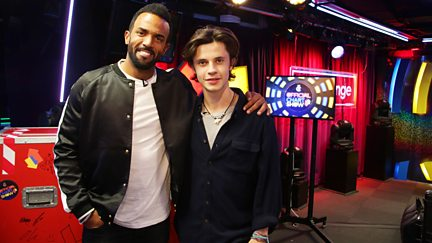 With Justin Bieber and Craig David