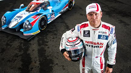 Sir Chris Hoy: 200mph at Le Mans
