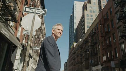Gary Lineker in New York