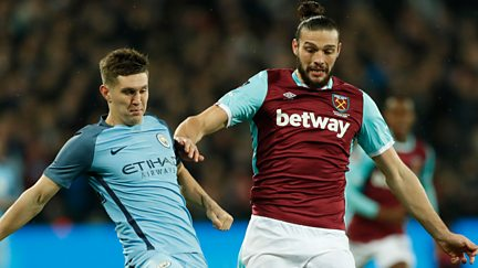 Third Round: West Ham United v Manchester City