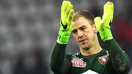 Joe Hart in Turin