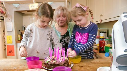 Daisy and Lily's Party for Mum