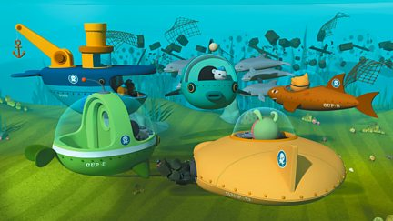Octonauts and the Spinner Dolphins