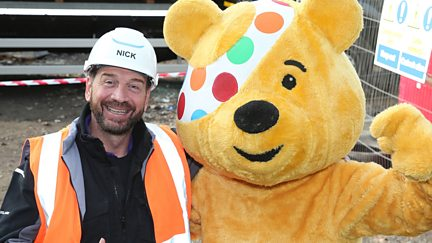 The Million Pound Build for Children in Need