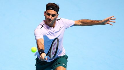 Day 7 - Semi-Finals: Roger Federer v David Goffin