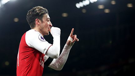 Play Like Mesut Ozil!